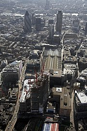 The City of London, one of the world's major financial centres