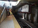 Broadway PATCO station platform, April 2015.jpg