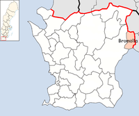 Bromölla Municipality in Scania County.png