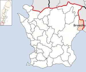 Bromölla Municipality - Image: Bromölla Municipality in Scania County