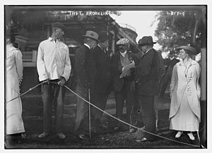 The Country Club - President Taft at the club in 1913