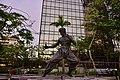 Bruce Lee Statue at Avenue of Stars, HongKong (Ank Kumar) 07.jpg