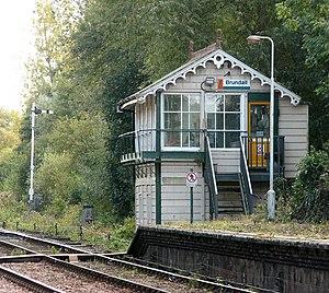 Brundall railway station - Brundall railway station signal box