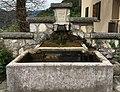 Brunnen in Moggio di Sopra, Via Riu 1, Provinz Udinese, Italien.jpg