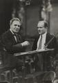 Bruno Walter (1876–1962) und Bronislaw Huberman (1882–1947) 1935 © Max Fenichel (1885–1942) OeNB 8075461.png