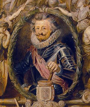 Bucquoy by Rubens 1621 (detail)
