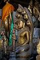 Buddha statues (What Aham temple 2009d).jpg