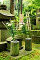 Buddhist cemetery at Tokei-ji temple, Kamakura (3802389494).jpg