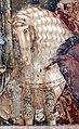 Buffalmacco, trionfo della morte, incontro dei tre vivi coi tre morti 32 cavallo bianco.jpg
