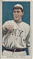 Bugs Raymond, New York Giants, baseball card portrait LCCN2008676507.jpg