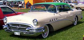 Buick super wikipedia for 1955 buick riviera 56r super 2 door hardtop