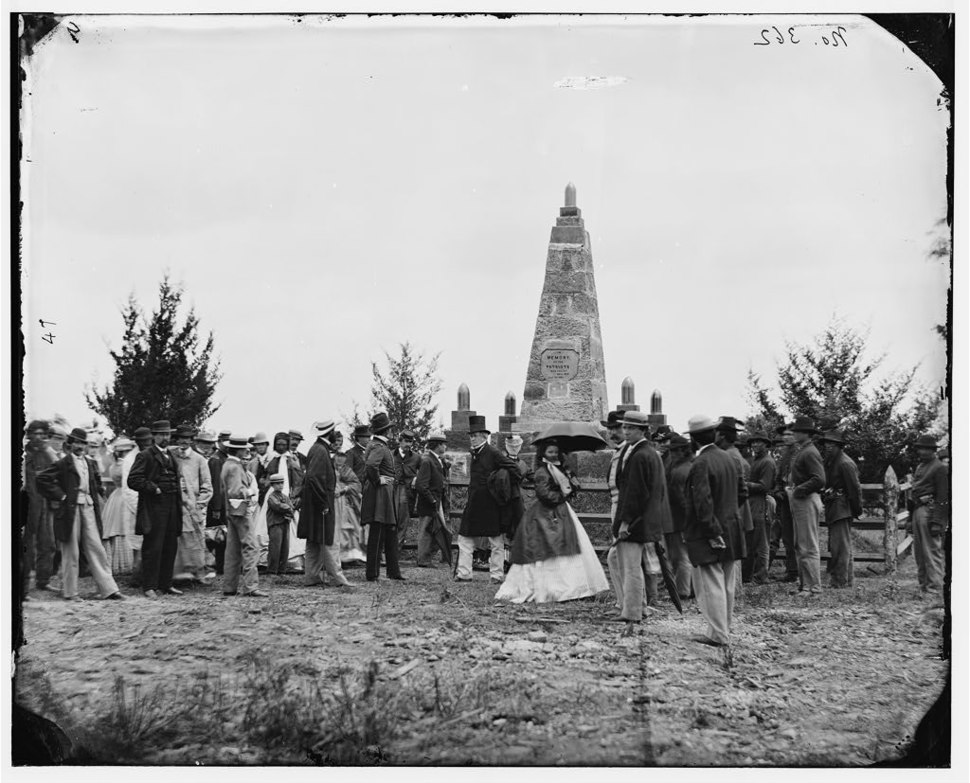 Bull Run, Va. Dedication of the battle monument 03773v