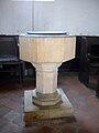Buncton Chapel font.JPG