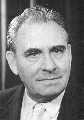 Wolfgang Heinz (actor) - Wolfgang Heinz, 1959.