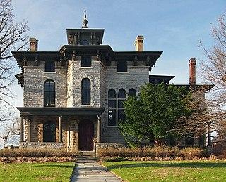 Burbank–Livingston–Griggs House historic residence in St. Paul, MN