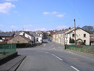 Withnell village in the United Kingdom