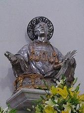 Busto argenteo di Santo Stefano, Cattedrale di Capua