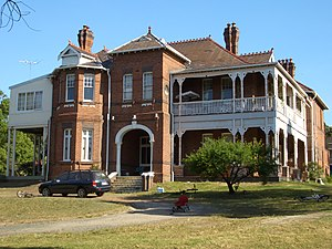 Croydon Park, New South Wales -  But-Har-Gra, Georges River Road, part of Moore Theological College
