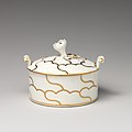 Butter dish with cover (part of a service) MET DP-1134-006.jpg