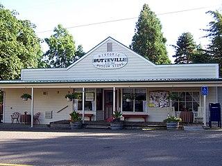 Butteville, Oregon Census-designated place & unincorporated community in Oregon, United States