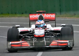 McLaren MP4-25 - Image: Button Australia 2010 2 (cropped)