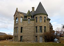 The Castle of White Sulphur Springs.