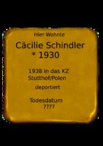 Cäcilie Schindler
