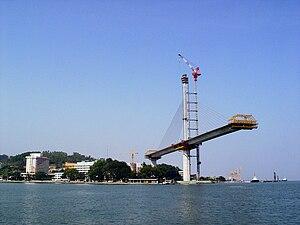 Bãi Cháy Bridge - Image: Cầu Bãi Cháy 2