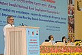 """C.P. Joshi addressing at a National Workshop """"Mahatma Gandhi NREGA - ICT for People's Empowerment One More Step Towards Governance Reforms and Transparency"""".jpg"""