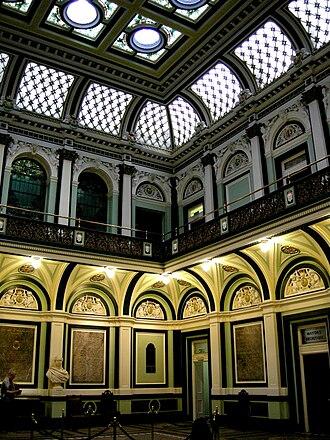 Atrium (architecture) - Image: C19 interior 015