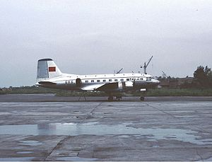 Xi'an Xiguan Airport - CAAC Ilyushin Il-14 at Xiguan (1984)