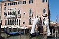 CANAL GRANDE - palazzo Sagredo - Lorenzo Quinn - Support 2.jpg