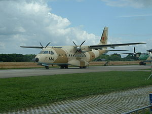 Marche Verte - Royal Moroccan Air Force CASA CN-235, support aircraft of the Marche Verte