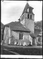 CH-NB - Bursins, Église, vue partielle extérieure - Collection Max van Berchem - EAD-7197.tif