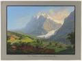 CH-NB - Grindelwald von Westen, mit Wetterhorn und dem oberen Gletscher - Collection Gugelmann - GS-GUGE-BLEULER-1-20.tif