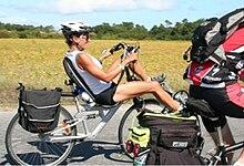 bike reclinada