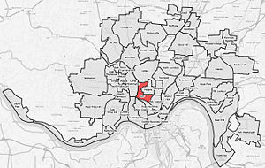 CUF is a neighborhood of Cincinnati, Ohio.