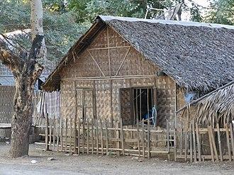 Cadjan - A cadjan house in Myanmar
