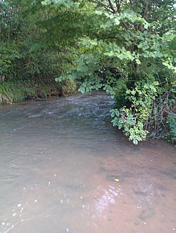 Cadoxton River just north of Dinas Powys, Wales.jpg