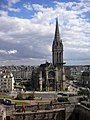 Caen, Eglise Saint-Pierre vue du Château.jpg