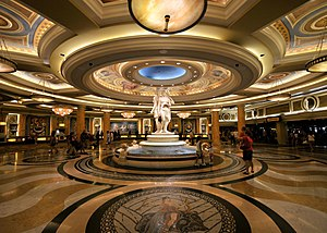 Caesars Palace - Lobby in 2008