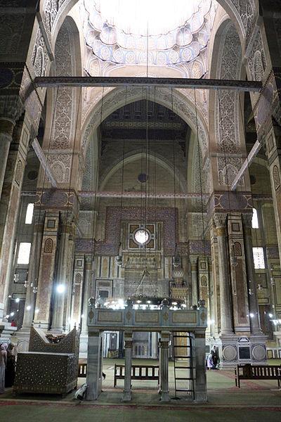Cairo Moschea Di Ar Rifai Interno 09 Jpg