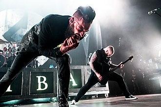 Caliban (band) - Image: Caliban Rock Im Park 2016 (3 von 8)