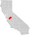 California county map (Merced County highlighted).svg