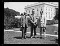 Calvin Coolidge and group outside White House, Washington, D.C. LCCN2016892559.jpg