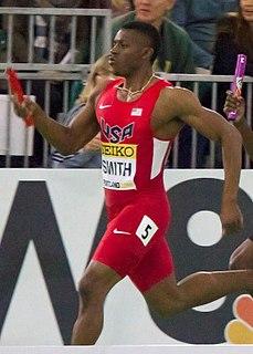 Calvin Smith Jr. American sprinter
