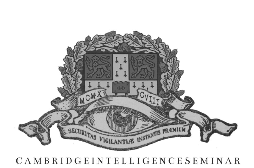 Cambridge Intelligence Seminar