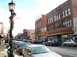 Downtown Cambridge in 2008