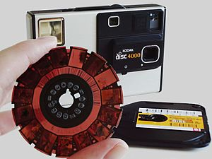 Disc film - Kodak disc film