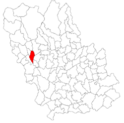 Location of Comarnic